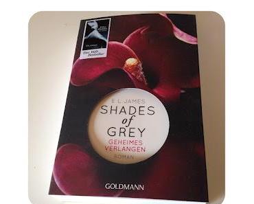 [Rezension] Shades of Grey - Geheimes Verlangen