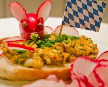 Oktoberfest: Bayrische Brotzeit mit Rettich und Obatzter