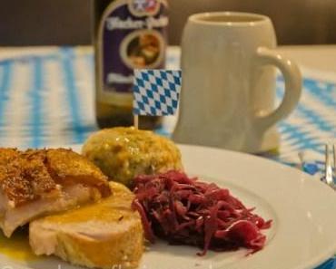 Oktoberfest und der Sonntagsbraten aus dem Römertopf