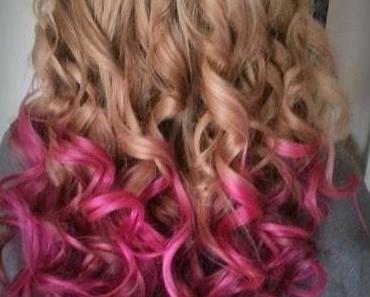 Dip Dye in Pink