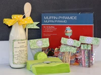 Cupcake Geschenk Set