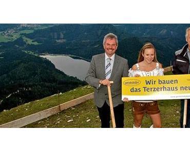 Gemeindealpe Mitterbach: Spatenstich für Neubau des Terzerhauses