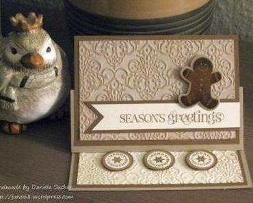 Seasons Greetings ……