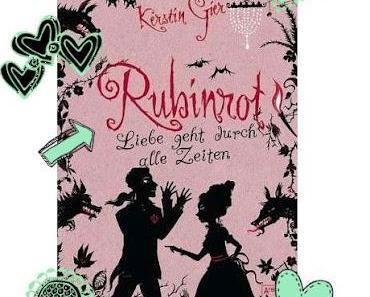 Rubinrot, Liebe geht durch alle Zeiten-Kerstin Gier