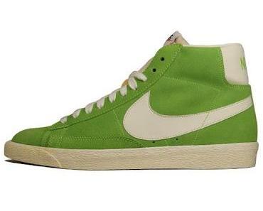 Nike Blazer Mid Premium VNTG Suede Grün