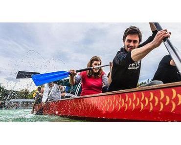 1. Mariazellerland Drachenbootrennen am Erlaufsee – Fotos
