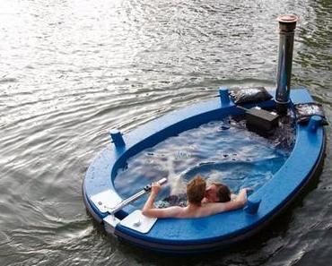 Das Jacuzzi Boot für Spaß auf dem Wasser