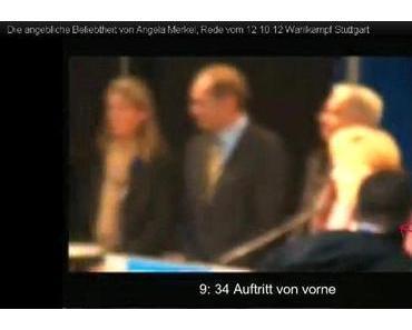12. Oktober 2012: Angela Merkel in Stuttgart
