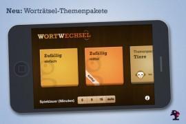 Wortwechsel – testen Sie Ihren Wortschatz mit Themenpacks