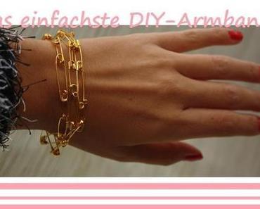 Das einfachste DIY-Armband der Welt ;)