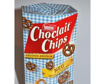 Nestlé Choclait Chips Knusper-Brezeln versus Milka Brezel Snax