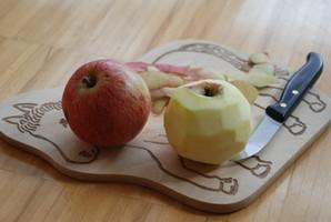 Warum hat ein Apfel eine Schale?