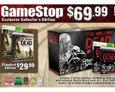 The Walking Dead: Inhalt der Retail-Collector's Edition veröffentlicht
