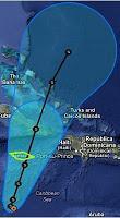 Tropischer Sturm SANDY - Sturmwarnung auf Jamaika