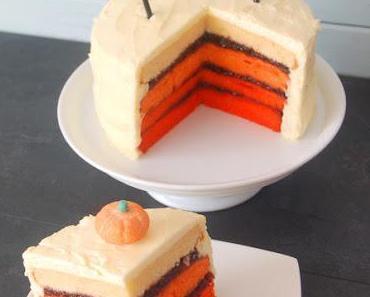 Ombre - Vintage Halloween Torte