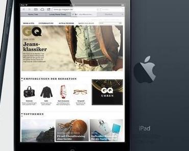 Apple präsentiert sein iPad Mini mit 7,9 Zoll Display