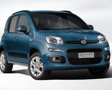 Fiat Panda mit Zweizylinder-Turbo und Erdgasantrieb