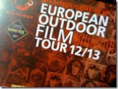 E.O.F.T. European Outdoor Film Tour 2012