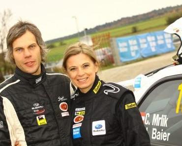 Christa Kummer fährt mit Christian Mrlik mit und ist einfach nur begeistert
