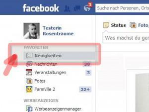 Verborgene Anwendungen bei Facebook wieder anzeigen