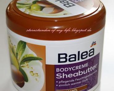 [Review] Balea Bodycreme Sheabutter