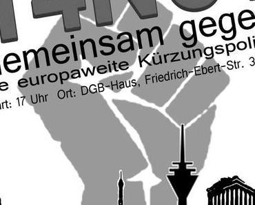 Demo am 14.11.2012 in Düsseldorf & anderen Städten: Gemeinsam gegen die europaweite Kürzungspolitik