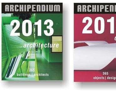 Architekturkalender ARCHIPENDIUM 2013