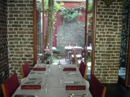 Ausgang im Belgischen: Restaurant Limbourg