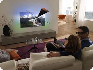 Die erste Tagesaufgabe mit dem PHILIPS SMART TV 40PFL8007k # Internetverbindung