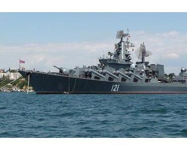Russische Kriegsmarine vor Gaza eingetroffen