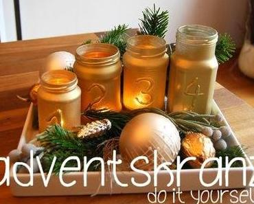 adventskranz // DIY