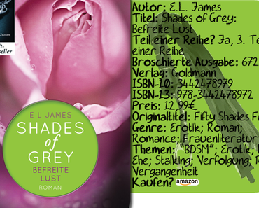 """Shades of Grey: Befreite Lust"" von E.L. James"