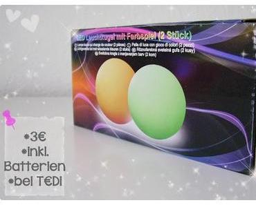 Dekotipp: LED-Leuchtkugeln von T€DI