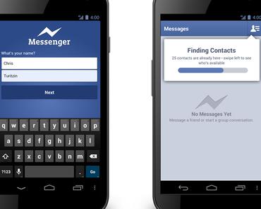 Facebook Messenger – Nutzung in Zukunft auch ohne Facebook Account möglich