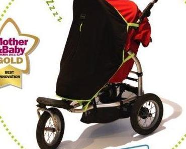 Türchen Nr. 7 – Drei SnoozeShade-Abdunklungstücher für Kinderwagen & Co