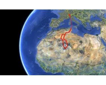 Algerien: vom Versuch in die Sahara zu fahren