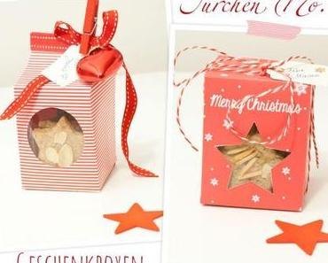 Adventskalender Türchen Nr. 11: Geschenkschachteln zum Ausdrucken und nachbasteln