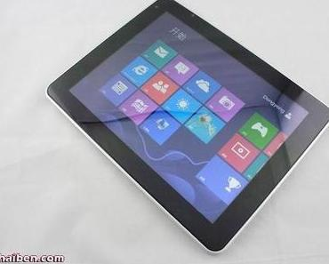F888 - Dual Boot Tablet mit Android 4.0 und Windows 8