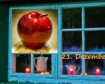 Weihnachlicher Bratapfel – Red Chief