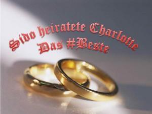 Das ging schnell: Sido und Charlotte verheiratet