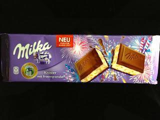 Milka - Knister mit Brausegranulat