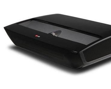 LG Hecto - 100 Zoll Kombination aus Laser-Projektor und Fernseher