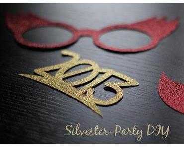 Silvester Party DIY Photo Props – ein Gastpost von Clara OnLine