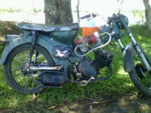 Dieses Moped fährt mit Wasser