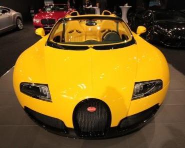 Fotos Vienna Autoshow 2013 Lamborghini Bentley Bugatti Mc Laren