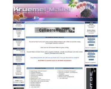 Kruemel-Mailer.de bei eBay – Datenhandel oder doch rechtlich vertretbar ?