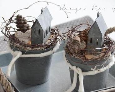 mehr Winter Deko und natürliche Ofen Anzünder