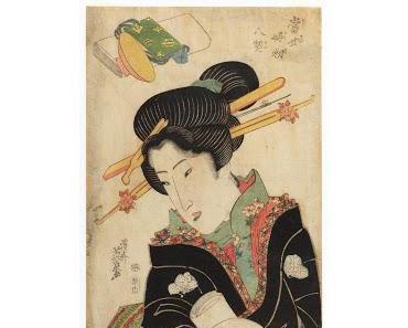 Kunstvoller Geisha-Look