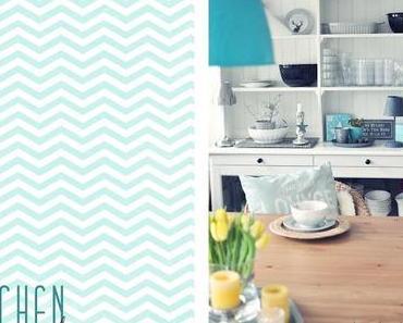 Frühlingsfarben in der Küche Part 2