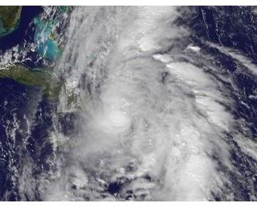 Hurrikan TOMAS zwischen Kuba und Haiti mit NASA Satelliten Video Stream